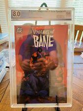 Batman: Vengeance Of Bane #1 1st Print PGX 8.0 Not CGC N/R 1st Appearance Bane