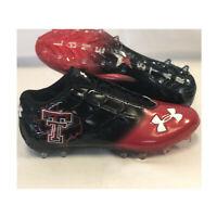 NEW Under Armour Team Mercenary 5/8 MC Football Cleat Texas Tech Black-Pick Size
