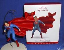 Hallmark Ornament DC Batman v Superman Dawn of Justice Man of Steel 2016 Base