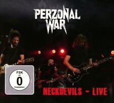 PERZONAL WAR - NECKDEVILS-LIVE (LIMITED CD+DVD DIGIPAK)   CD+DVD NEUF