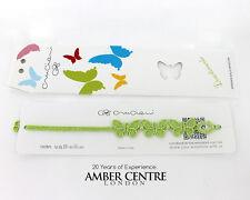 Originale fatto in Italia CRUCIANI BAMBINI bracciale- farfalla- Verde Menta