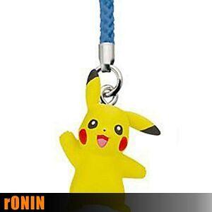 PIKACHU - Pokemon XY Netsuke Mascot Charm Keychain portachiavi TAKARA TOMY