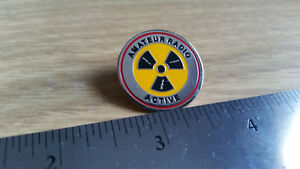 Amateur Radio Active Logo Lapel Pin
