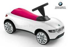 Genuine BMW Baby Racer III - Sit-On/Ride-On - White/Raspberry - 80932413784
