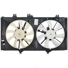 Dual Radiator and Condenser Fan Assembly Spectra CF20100 fits 13-17 Lexus ES300h