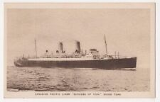 Canadian Pacific Duchess of York Correspondence Back Shipping Postcard B625