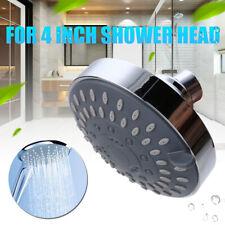 4 Inch Shower Head High Pressure 5-setting Adjustable Shower Head Top Spray Bath