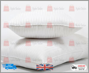 New Luxury Extra Large Jumbo Pillows Hotel Quality Striped Pillows DELUXE PILLOW