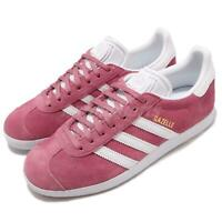 adidas Originals Gazelle W Pink White Women Casual Classic Shoes Sneakers B41658