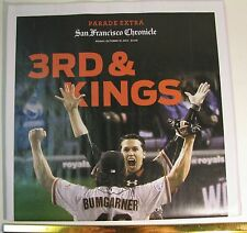 SAN FRANCISCO GIANTS WORLD SERIES 2014 PARADE EXTRA CHRONICLE PAPER FREE SHIP