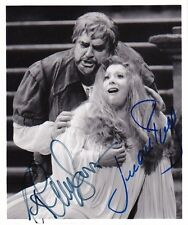 RUTH ANN SWENSON & JUAN PONS dual signed photo in Rigoletto at the MET