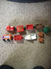 Pre Owned Fisher Price GeoTrax Accessories.  See Pictures For Details.AAAA