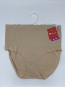 SPANX Everyday Shaping Brief (SIZE 16-18 L) Control Pants, Light Control Nude