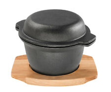 Pyrolux Pyrocast Garlic Pot with Maple Tray