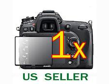 1x Nikon Digital SLR D7100 D7200 Camera Clear LCD Screen Protector Guard Shield