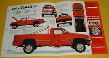 1995 Dodge RAM 2500 Truck V10 488 ci 300 hp SMPFI IMP Info/Specs/photo 15x9
