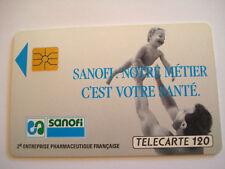 PHONECARD TELECARTE ENTREPRISE PHARMACEUTIQUE SANOFI