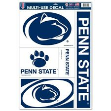 "PENN STATE NITTANY LIONS 11""X17"" ULTRA DECAL SHEET BRAND NEW FREE SHIPPING"