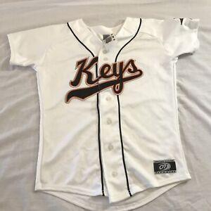 Vintage Frederick Keys Minor League Baseball Jersey Orioles affiliate Youth L