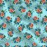Blumenmuster aus reiner Baumwolle Blumenmuster 44 Zoll breit von der Werft