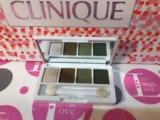 CLINIQUE ALL ABOUT EYES QUAD 05 ON SAFARI, 2A LEMONGRASS, 07 BUTTERED TOAST DUO