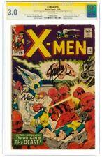 STAN LEE Signed * 1965 X-MEN #15 SS * Marvel Comics CGC 3.0 GD/VG BOLD Signature
