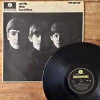 The Beatles ~ With The Beatles (Parlophone PMC 1206) UK Mono Vinyl -1N / -1N