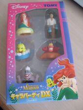 Disney Tomy Japan The Little Mermaid Box Set 2004 Ariel Eric Ursula Flounder