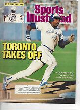 Sports Illustrated October 5 1987 Lloyd Moseby Toronto Blue Jays