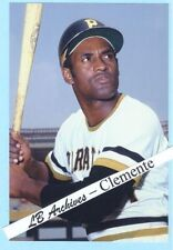 12x18 ROBERTO CLEMENTE Pirates poster photo 1971 card