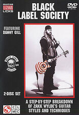 Learn BLACK LABEL SOCIETY Guitar Legendary Licks 2 DVD