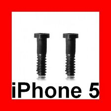 ★★★ lot of 2 torx pentalobe star screws black for apple iphone 5