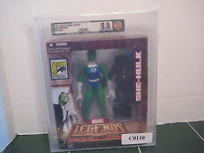 Marvel Legends She-Hulk Figure Exclusive Comic Con UNCIRCULATED 9.5