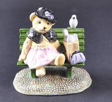 Vintage 1984 Hummelwerk Bialosky Teddy Bear Ruthie Porcelain Figurine