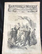 1861 Civil War newspaper Engraving & Bio Confederate Gen Albert Sydney Johnston