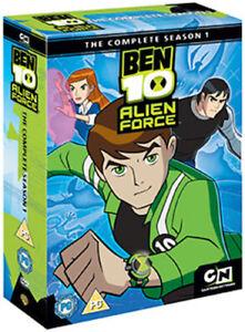 BEN 10 - ALIEN FORCE SEASON 1 DVD [UK] NEW DVD