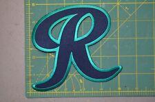 "Tacoma Rainiers ""R"" MiLB 5"" x 5"" Throwback Minor League Baseball Jersey Patch"
