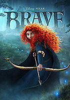 Disney/Pixar Brave Blu Ray Region ABC FACT 2012
