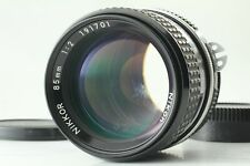 """EXC+++"" NIKON NIKKOR AI 85mm f2 1:2 WIDE ANGLE F mount Lens From Japan"