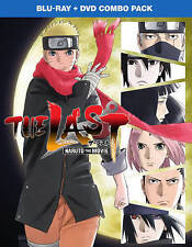 The Last: Naruto the Movie (Blu-ray/DVD, 2015, 2-Disc Set) NEW, FREE shipping