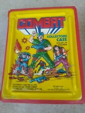 vintage COMBAT collectors case tara toy Corp 1987