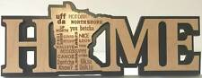 Minnesota Home Decorative Word Art - Mn Words We Say