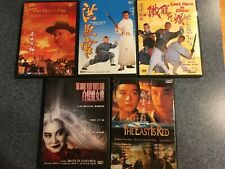 Martial Arts movies 5 Dvd lot Jet Li Once Upon A time in China Last Hero Shaolin