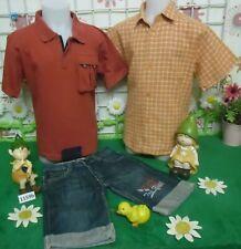 baba4f04cf116 lot vêtements occasion garçon 6 ans,chemisette,polo,bermuda jean ORCHESTRA