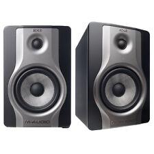 2 x M-Audio BX6 Carbon Compact Studio Monitors Speakers DJ Disco