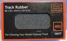 Gaugemaster GM Jumbo Model Railway Track Cleaning Rubber Block 77x50x20mm 1st