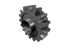 5 x [neu] LEGO Technik Kupplungszahnrad mit 16 Zähnen - dunkel-blaugrau - 6542
