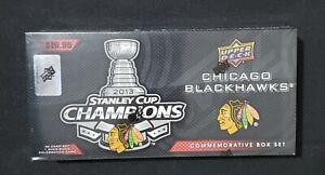 2013 Upper Deck Chicago Blackhawks Stanley Cup Championship Box 30 Card Set