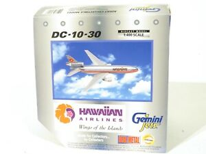 Gemini Jets GJHAL120 Scale 1:400 Hawaiian Airlines DC-10-30