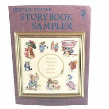 Vintage Beatrix Potter Storybook Sampler Counted Cross Stitch Pattern Booklet